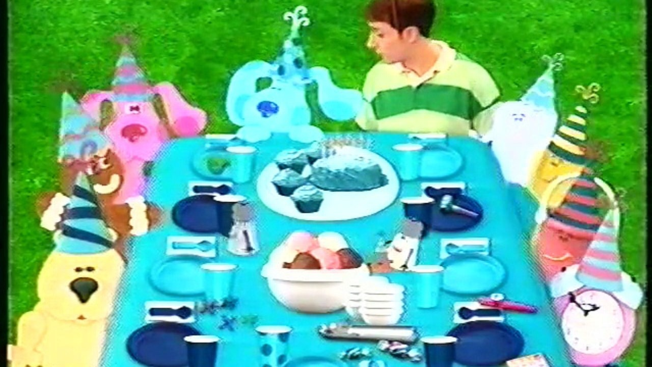 blues clues happy birthday ; blues-clues-birthday-blue-s-cut-scene-2-video-dailymotion