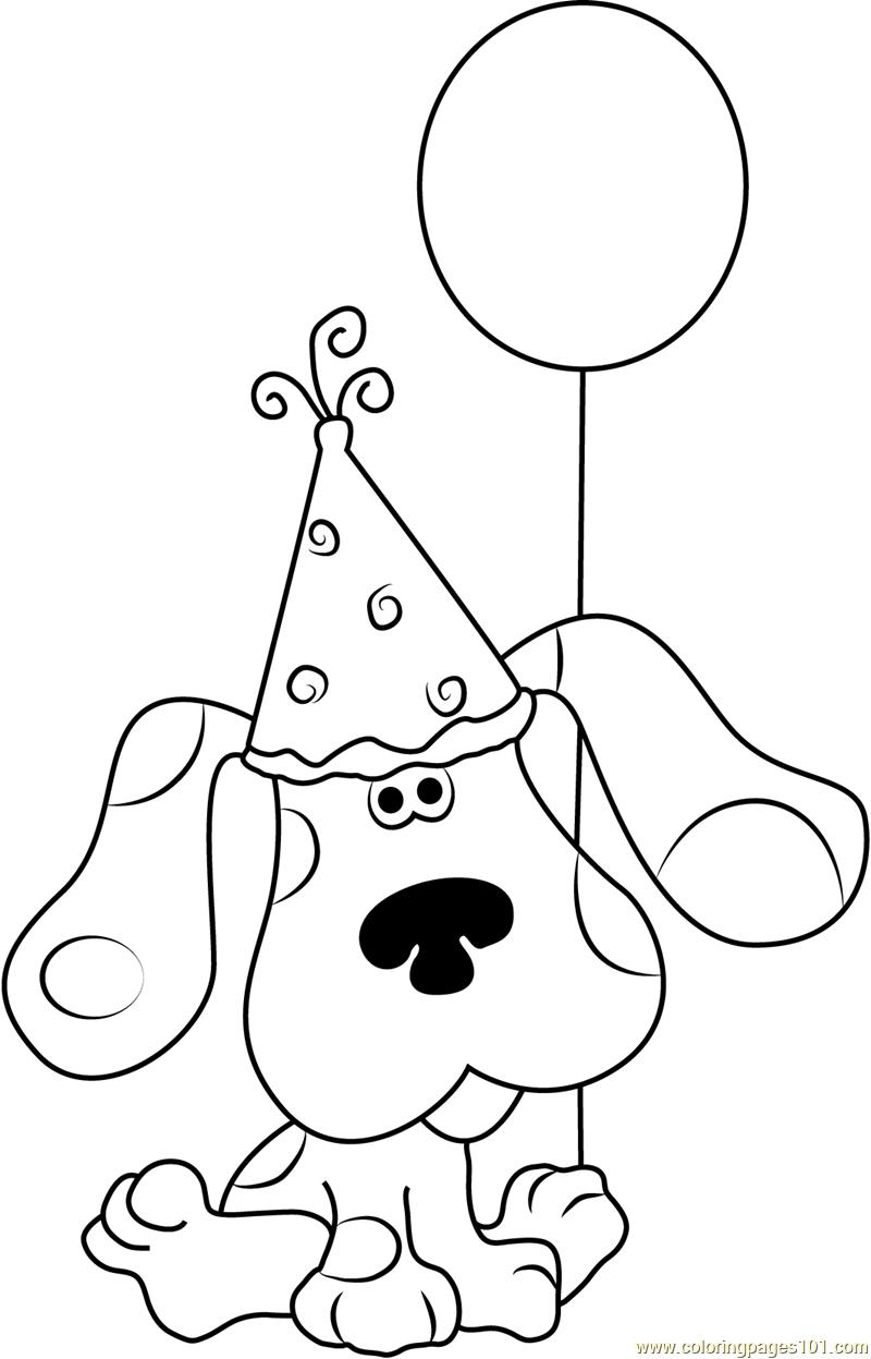 blues clues happy birthday ; happy-birthday-blue-clues-coloring-page-free-s-clean-blues-pages-fall-2