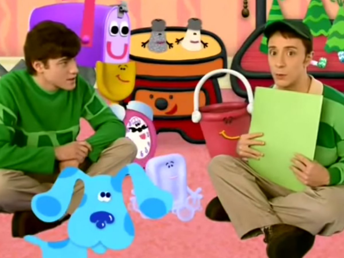 blues clues happy birthday ; largest-blue-s-clue-we-finally-have-a-as-to-what-happened-steve-from