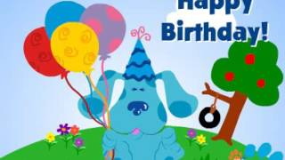 blues clues happy birthday ; mqdefault