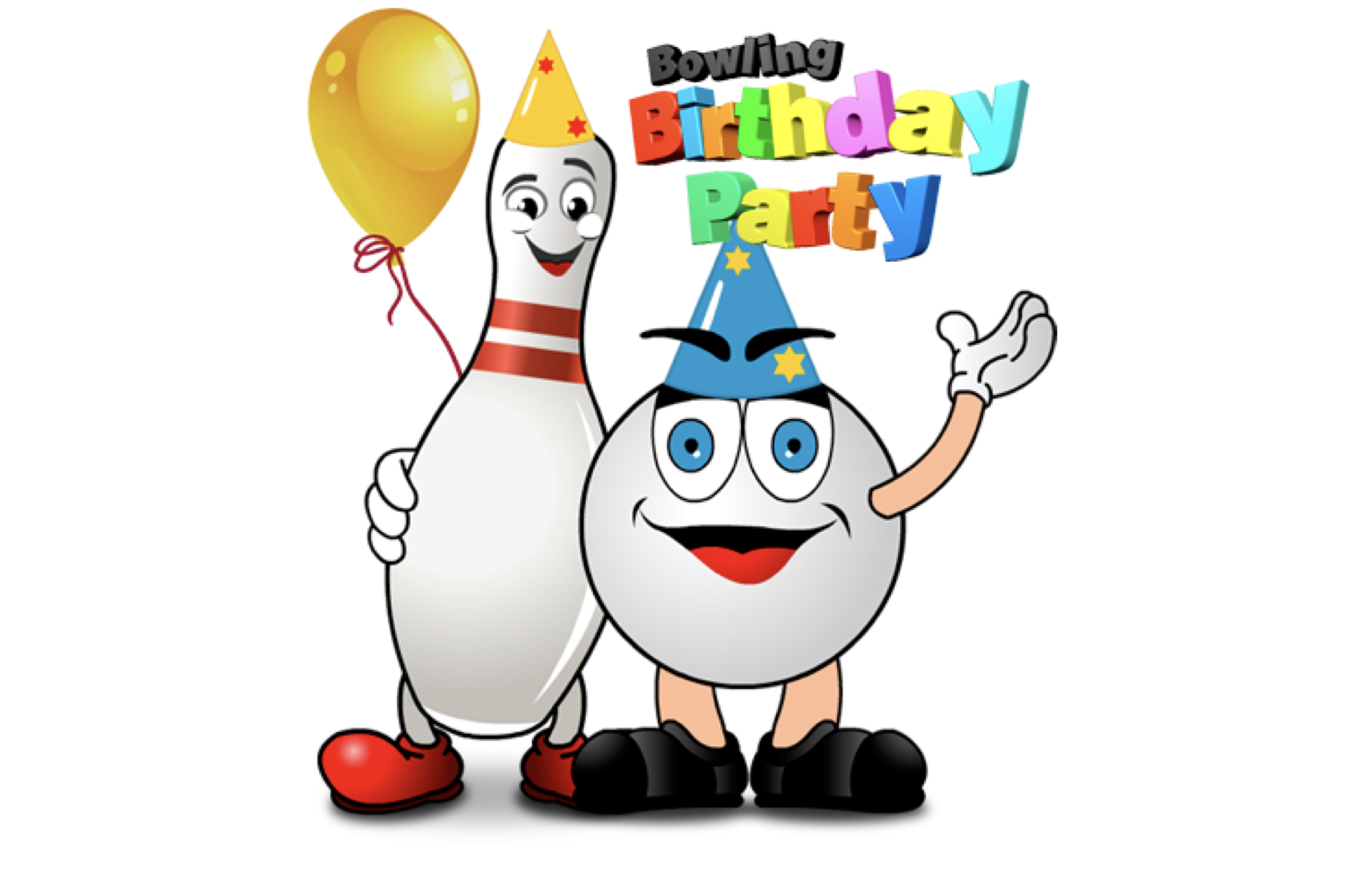 bowling birthday clipart ; birthday_party2