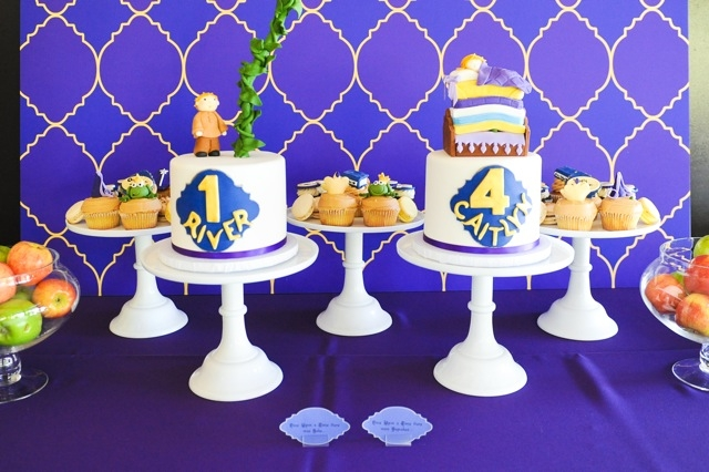 boy and girl birthday party themes ; boy_girl_birthday_party_dessert_table