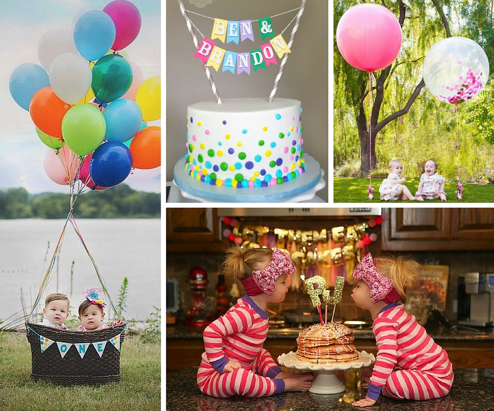 boy girl birthday party themes ; Twin-Party-Header