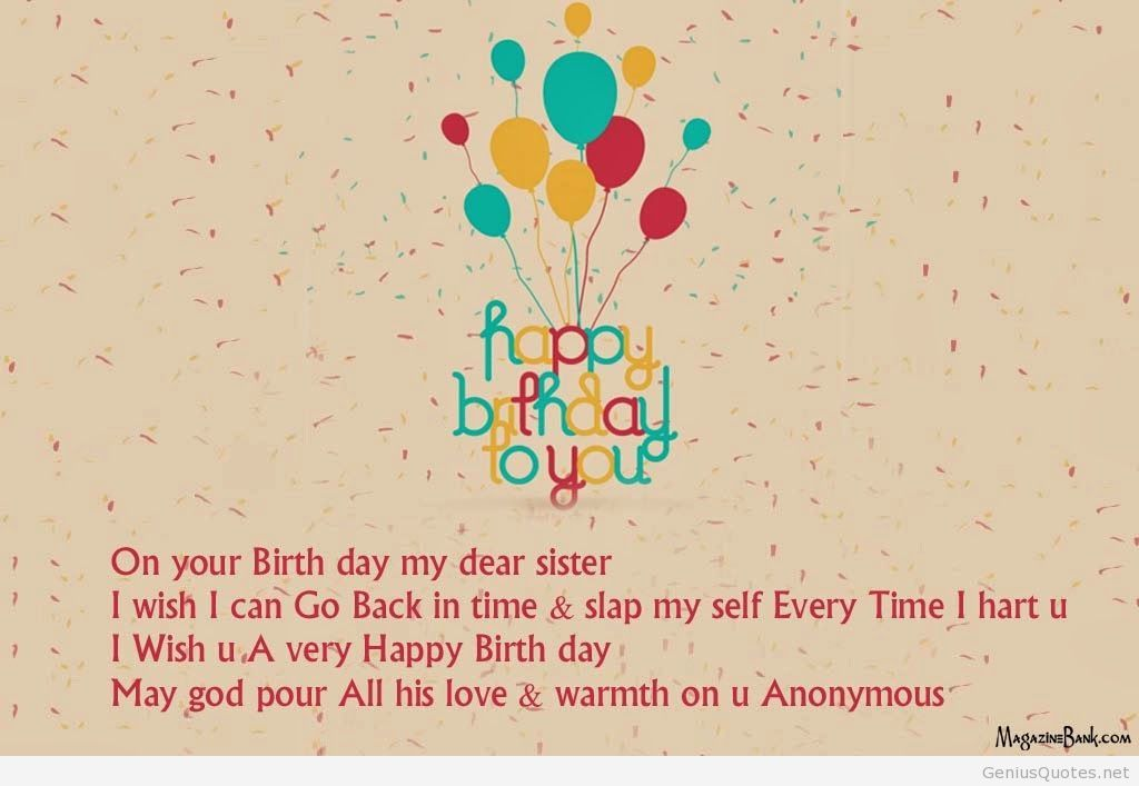 brainy quotes birthday message ; happy-birthday-sister-quotes