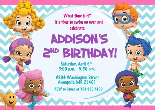 bubble guppies birthday invitation template ; Breathtaking-Bubble-Guppies-Birthday-Invitations-As-Prepossessing-Ideas-Birthday-Invitation-Wording