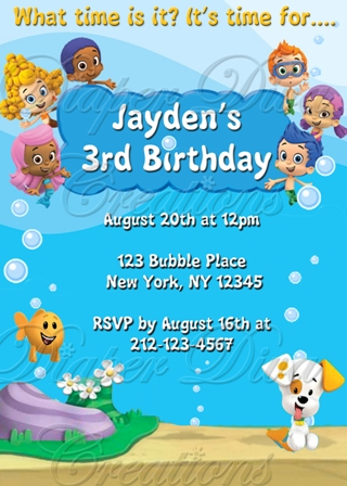 bubble guppies birthday invitation template ; BubbleGuppiesInvitation2