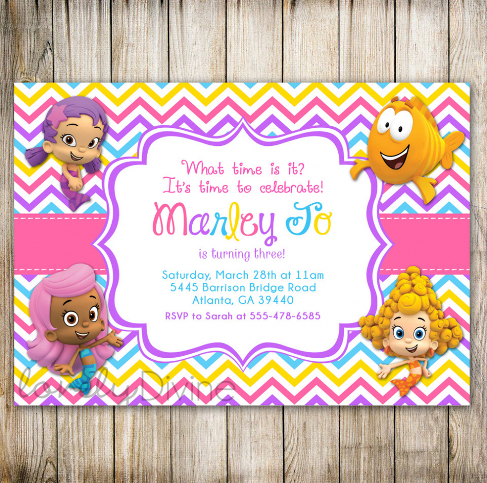 bubble guppies birthday invitation template ; bubble-guppies-birthday-banner-template-best-high-quality-free-printable-bubble-guppies-birthday-invitations