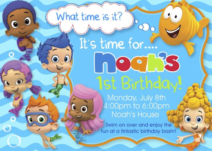 bubble guppies birthday invitation template ; bubble-guppies-birthday-invitations-with-exceptional-template-Birthday-Invitation-Cards-invitation-card-design-using-a-unique-design-17