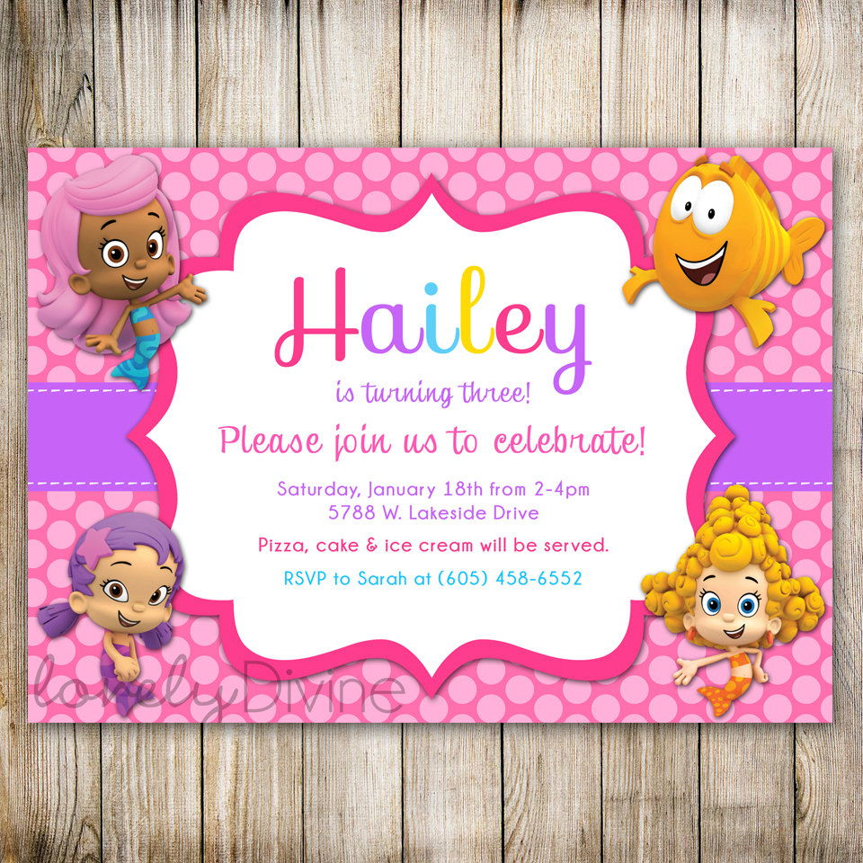 bubble guppies birthday invitation template ; bubble_guppies_1