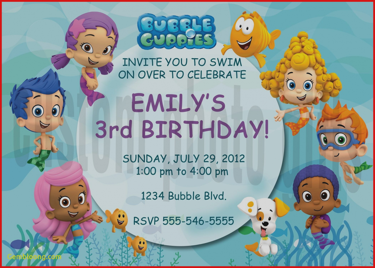 bubble guppies birthday invitation template ; trend-bubble-guppies-party-invitations-inspirational-invitation-template-image-of