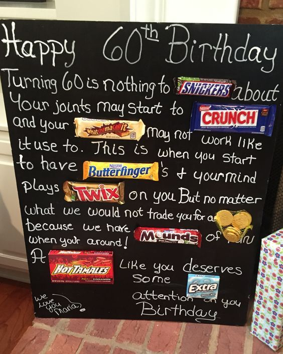 candy bar poster for 40th birthday ; be9f40c48cba6e9b0e38c2d79d127517