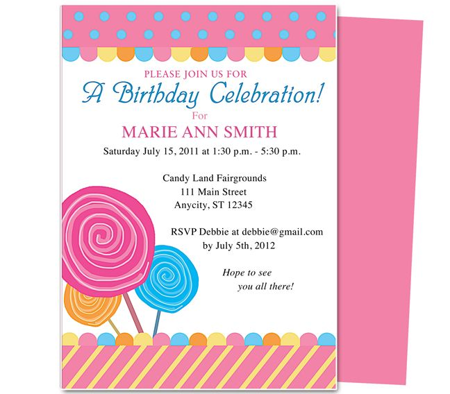 children's birthday party invitation templates free ; childrens-birthday-party-invitation-templates-23-best-kids-birthday-party-invitation-templates-images-on