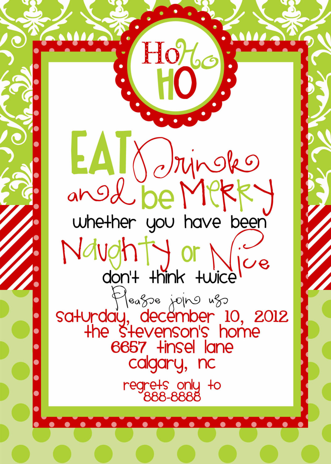 christmas birthday party invitation templates ; 12bf835ee0cca240d4aad0a16e4d9b29