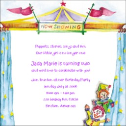 circus birthday party invitation wording ; kids-birthday-party-invitation-wording-to-make-your-artistic-Party-invitations-unique-and-creative-11