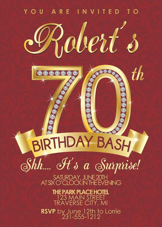 color theme for 70th birthday party ; 70th-birthday-party-invitations-to-bring-more-colors-on-your-appealing-Party-invitations-17