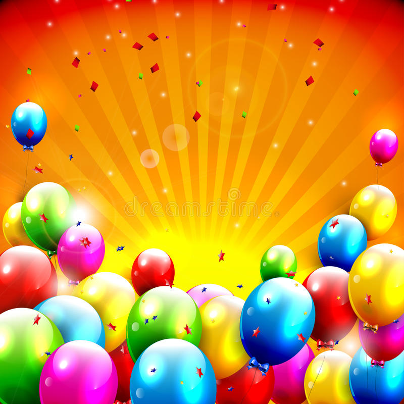 colorful birthday images ; colorful-birthday-background-flying-balloons-orange-37778583