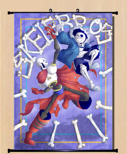 cool birthday posters ; Game-Anime-Undertale-Sans-Cool-Wall-Scroll-Home-Decor-Poster-Birthday-80-60cm