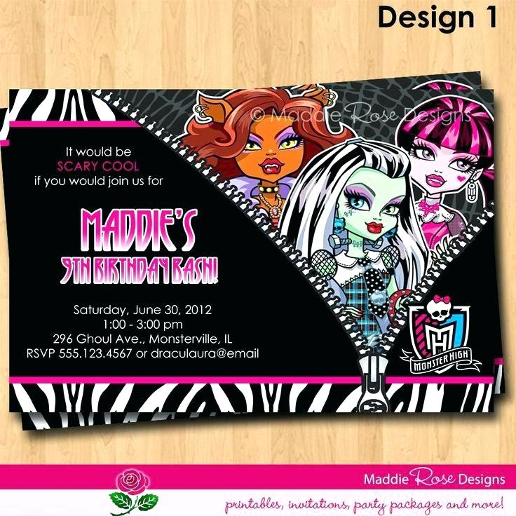 cool birthday posters ; monster-high-posters-printable-new-birthday-invitations-for-templates-free-invitation-calendar-2018