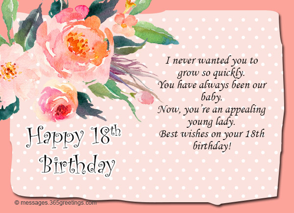 cousin birthday card messages ; 18th-birthday-wishes-and-greetings-01