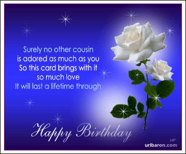 cousin birthday card messages ; 6061cf5c242069ddb390206047daf13e