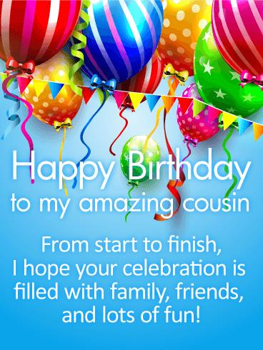 cousin birthday card messages ; 6d7b9d61871b949deecba21da92348f8