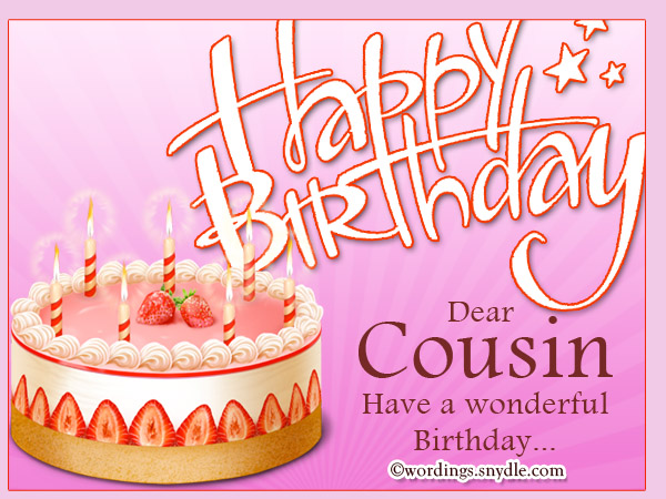 cousin birthday card messages ; birthday-greetings-for-cousin