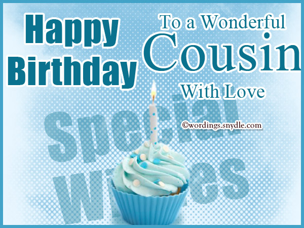 cousin birthday card messages ; birthday-wishes-for-cousin