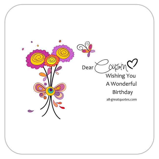 cousin birthday card messages ; write-happy-birthday-cousin-wishes-verses-messages