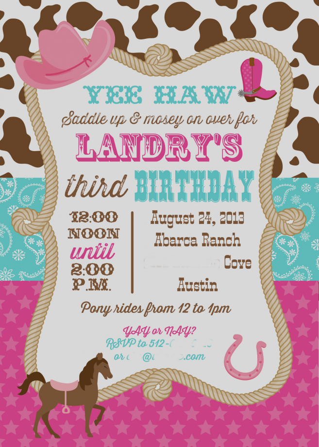cowgirl birthday party invitation ideas ; new-of-cowgirl-birthday-party-invitations-unique-ideas-for-templates-egreeting