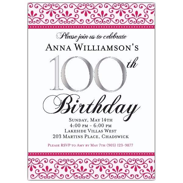 create your own birthday invitations ; Marvellous-100Th-Birthday-Invitations-To-Create-Your-Own-Birthday-Invitation-Wording
