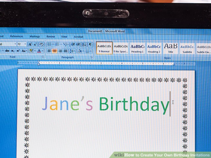 create your own birthday invitations ; aid1259601-v4-728px-Create-Your-Own-Birthday-Invitations-Step-14