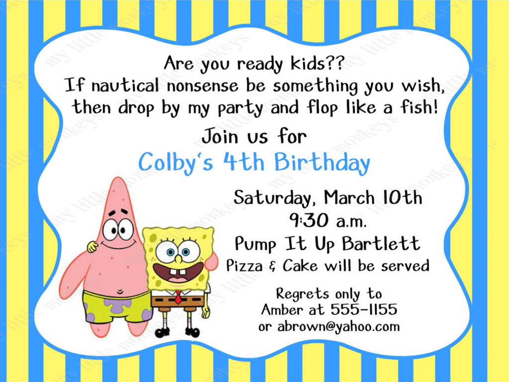 create your own photo birthday invitations ; birthday-invites-astonishing-spongebob-birthday-invitations-ideas-create-your-own-birthday-invitations-free-1024x769