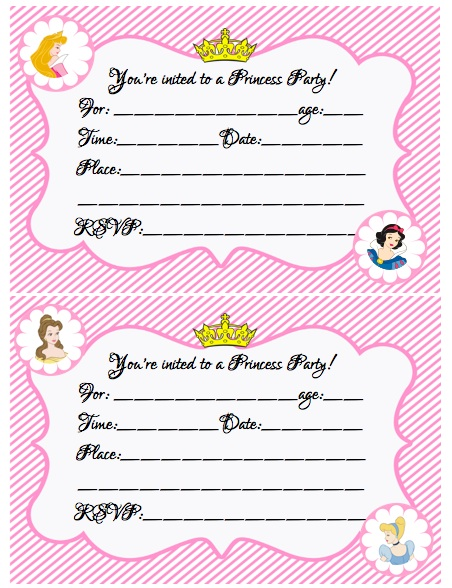 create your own photo birthday invitations ; design-your-own-birthday-invitations-free-printable-princess-party-invitations-free-printable-create-your-own-princess