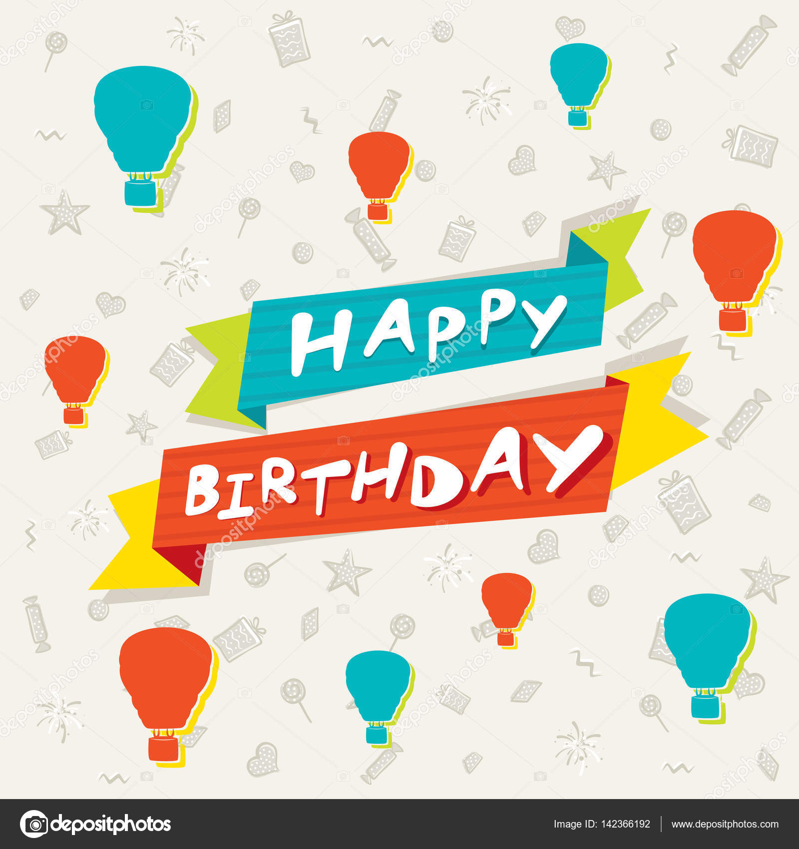 creative happy birthday posters ; depositphotos_142366192-stock-illustration-creative-colorful-happy-birthday-poster