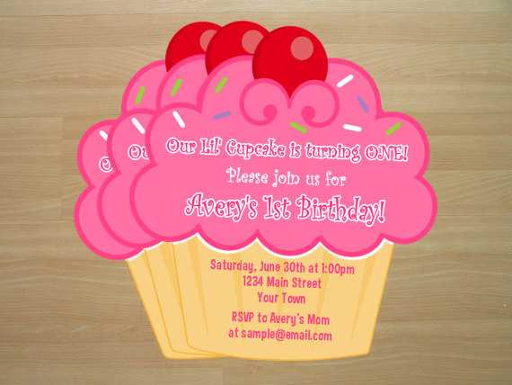 cupcake birthday invitation template ; 25f9c31095f891278bd3ebd42d57796b