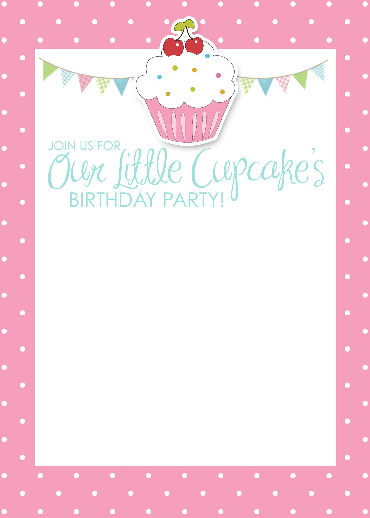 cupcake birthday invitation template ; 9db277ce10b0a7cef4cc8727d2cee450