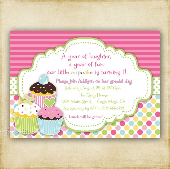cupcake birthday invitation template ; cupcake-birthday-invitations-wording