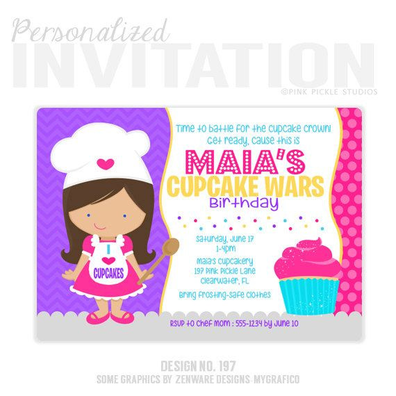 cupcake photo birthday invitations ; best-25-cupcake-invitations-ideas-on-pinterest-cupcake-party-cupcake-birthday-invitations