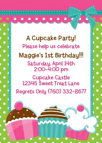 cupcake photo birthday invitations ; cupcake-invitations-cupcake-trio-birthday-party-invitations-candles-and-favors