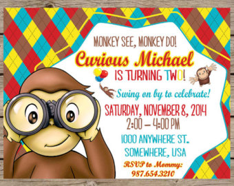 curious george birthday invitations printable ; curious-george-birthday-invitations-make-your-delightful-Birthday-invitations-much-more-awesome-1