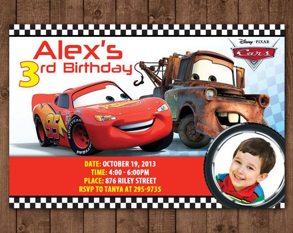 custom photo birthday invitations disney cars ; disney-cars-birthday-invitations-with-beautiful-Birthday-Invitation-Templates-as-a-result-of-an-application-using-a-felicitous-concept-20