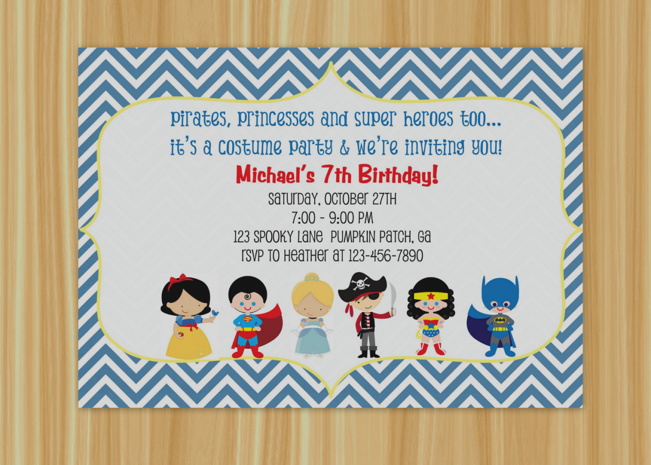 custom photo birthday party invitations ; best-custom-birthday-party-invitations