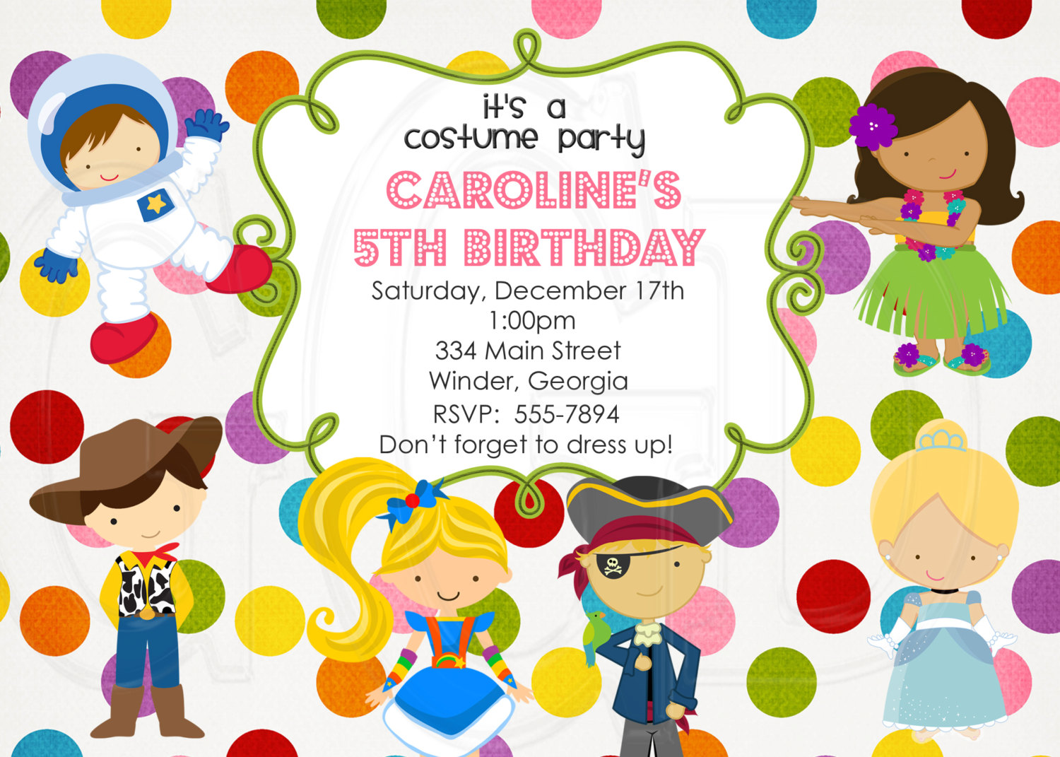 custom photo birthday party invitations ; custom-birthday-party-invitations-with-some-beautification-for-your-Party-Invitation-Templates-to-serve-artistic-environment-10