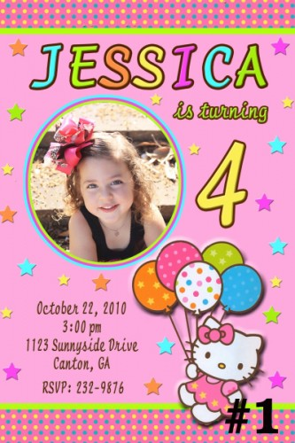 custom photo birthday party invitations ; hello_kitty_custom_photo_birthday_invitation_you_print_digital_bbc309ec