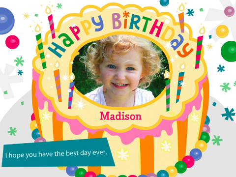 customized birthday greeting cards online ; screenshot