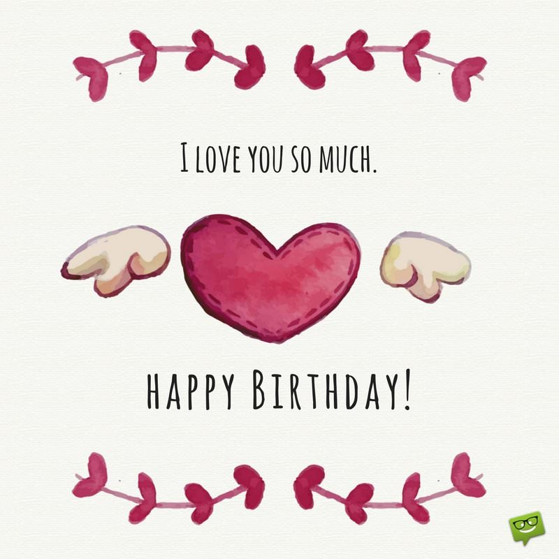 cute birthday card messages for girlfriend ; Cute-birthday-message-to-girlfriend-on-card-with-love-background