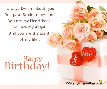 Cute Birthday Card Messages For Girlfriend