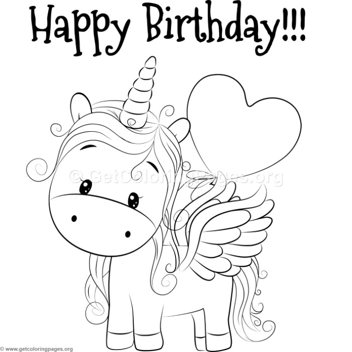 Cute Happy Birthday Coloring Pages Best Happy Birthday Wishes