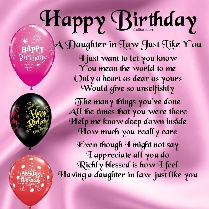 daughter in law birthday card messages ; fa3e3980b0b46f0feac1b2b94ce21d92