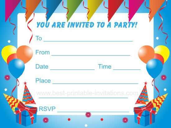 design birthday party invitations ; Birthday-Party-Invitations